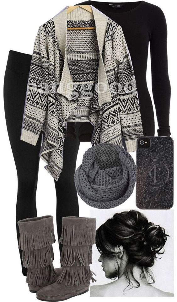 picture 25 Pretty Plaid Wintertime Outfit Ideas – Polyvore Outfits for Winter