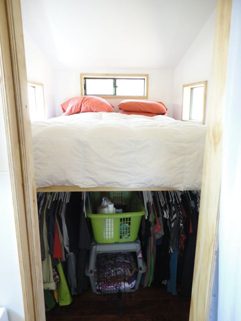 Closet under bed for the home pinterest
