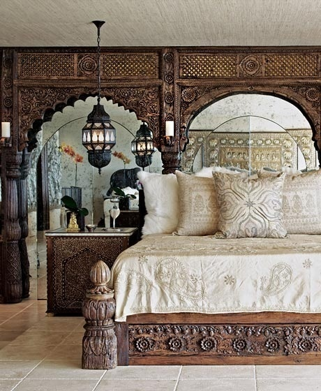 elegant boho bedroom♥