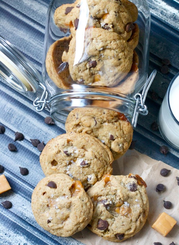 Dark Chocolate Caramel Espresso Cookies   Cookies/Bars   Pinterest