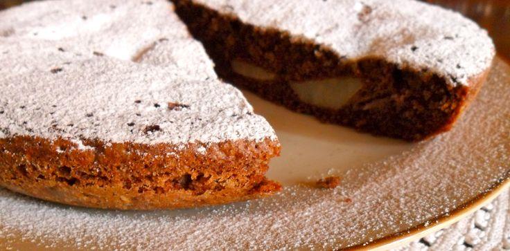 Chocolate and Pear Cake