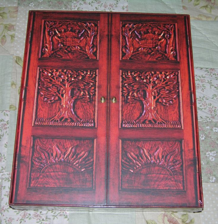 Narnia wardrobe door