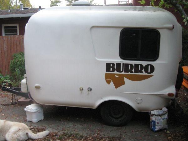 Luxury Burro Vintage Camper Trailer  Flickr  Photo Sharing