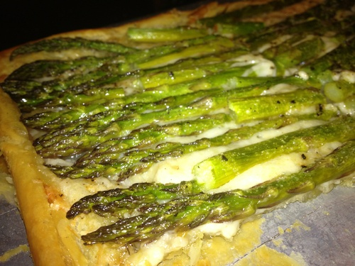 ... asparagus with garlic and parmesan asparagus gruyere and parmesan tart