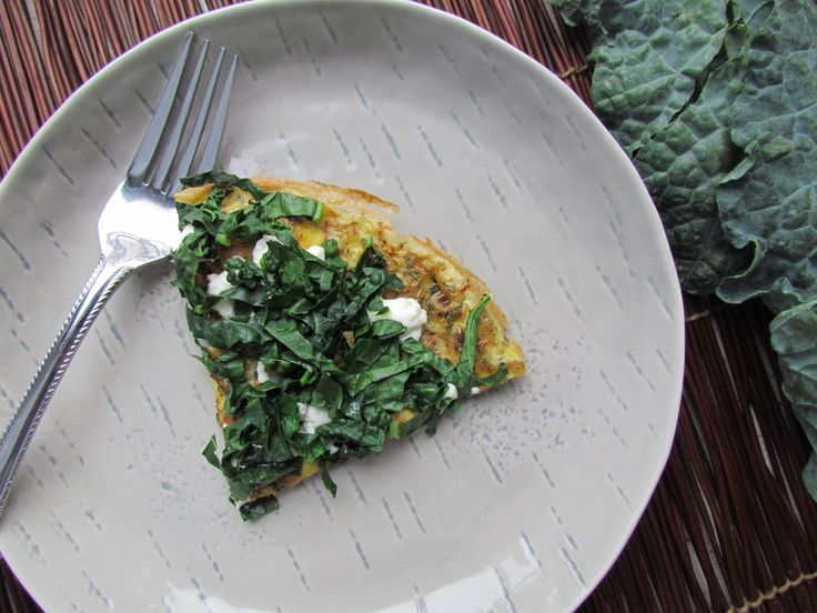 Kale and Goat Cheese Frittata - Meatballs