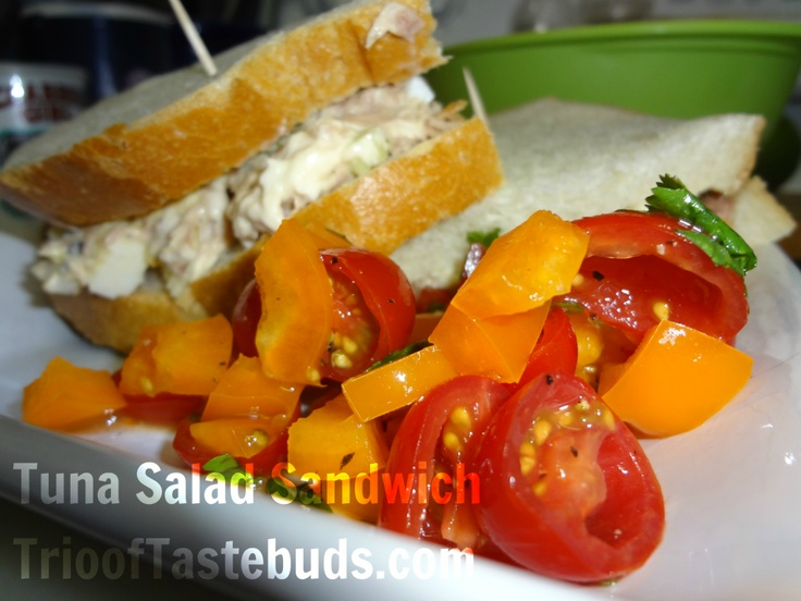 Tuna Salad Sandwich | Sammies & Wraps | Pinterest