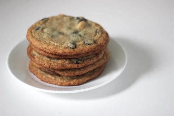blueberry & cream cookies from the Momofuku Milk Bar cookbook {recipe}