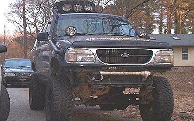 1997 ford explorer sport 4x4 lifted trucks pinterest - Ford Explorer Sport 2001 Lifted