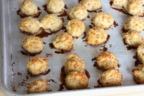 ... Friendly Food: Italian soup's tiny chicken meatballs, minus the soup