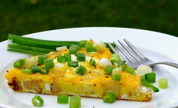 Asparagus Frittata With Horseradish Sour Cream Recipes — Dishmaps