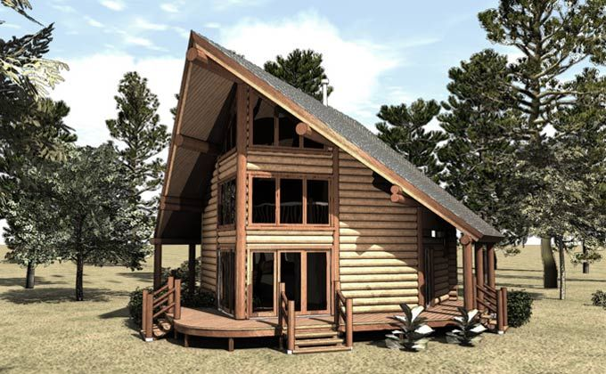 Best of 12 images a frame log cabin plans house plans for A frame log cabin