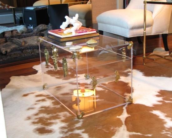 Acrylic Trunk Coffee Table  future homes ideas  Pinterest