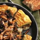 Try the Frittata with Sausage, Wild Mushrooms and Cheddar Recipe on ...