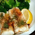 Atkins Cod and Broccoli Baked with Hazelnuts and Herb-Butter. Only 4.4 ...