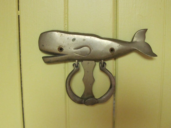 Pin by frank steph fiorenini on all things nautical pinterest - Whale door knocker ...
