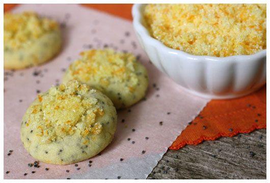 Orange poppy seed drops | Treats/Snacks to make | Pinterest