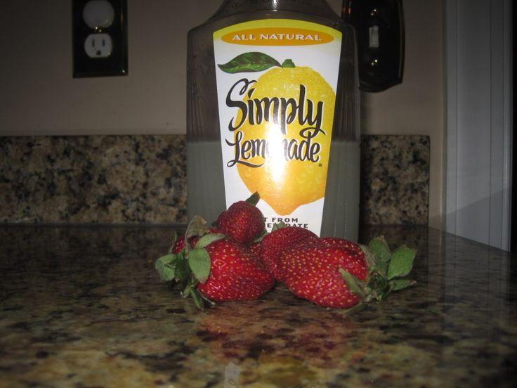 Strawberry lemonade ice pops.   Food, treats, and drinks   Pinterest