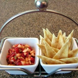Annie's Fruit Salsa and Cinnamon Chips | Recipe