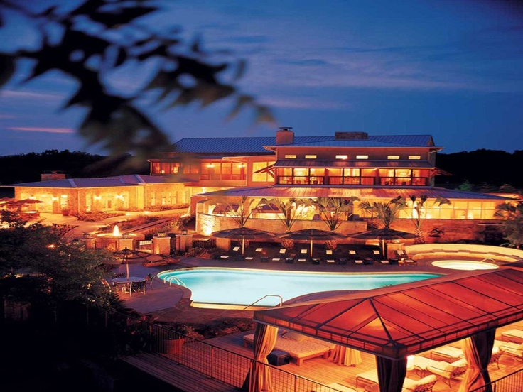 Lake austin spa resort for Spas and resorts in texas