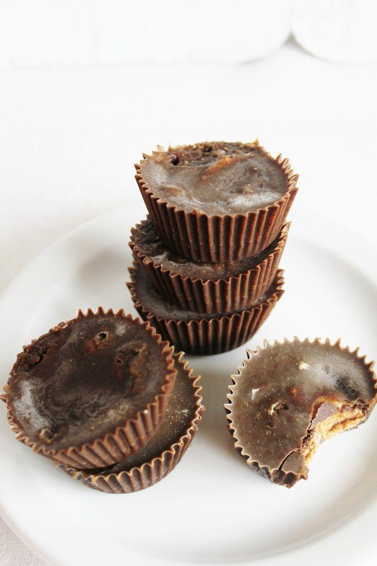 Almond Butter Cups | candy | Pinterest