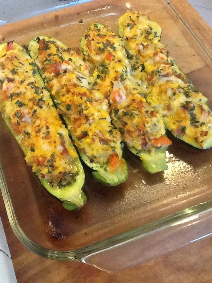 How to Make KT 'S Stuffed Zucchini Boats | Recipe