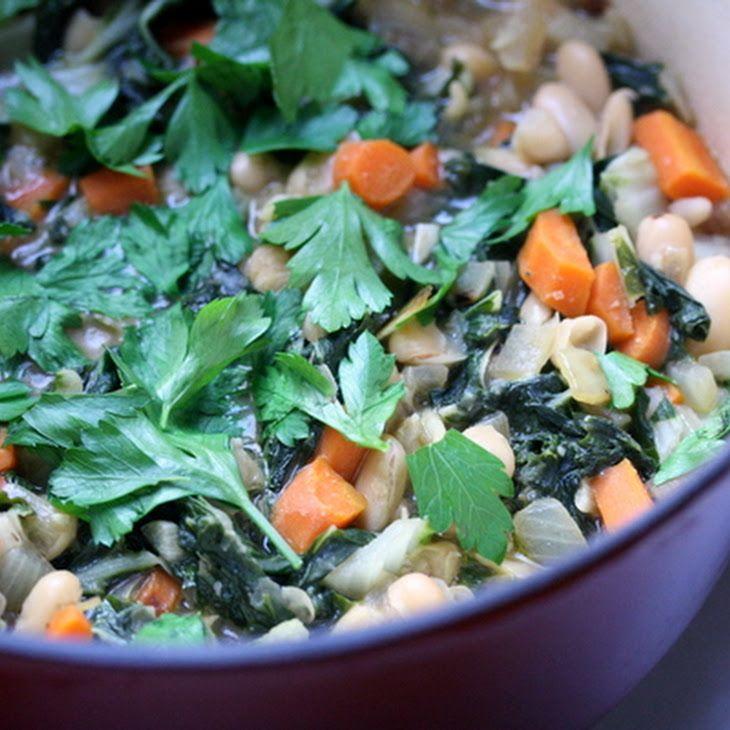 Swiss Chard and White Bean Stew Recipe   Vegan Recipes   Pinterest