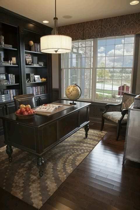 Cozy Home Office Decorating Pinterest