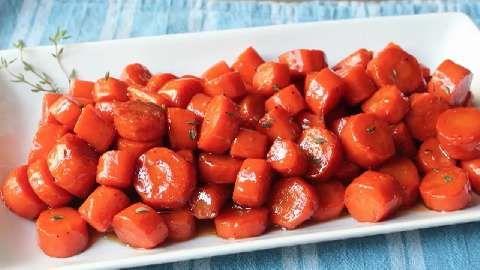 Bourbon Glazed Carrots Allrecipes.com | Food | Pinterest