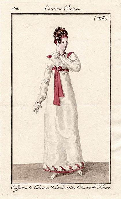 Платья Русских Женщин 1812 Года Фото