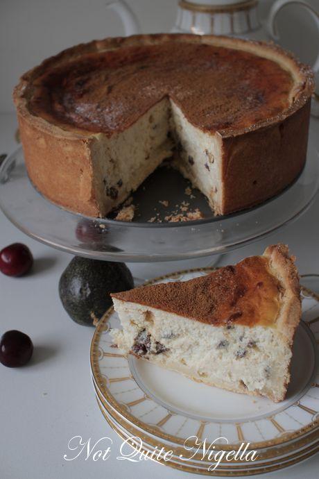 Italian Ricotta Cheesecake | Cakes | Pinterest