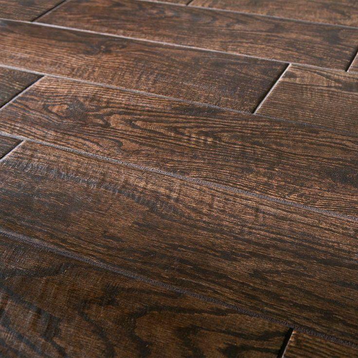 Marazzi montagna saddle 6 in x 24 in glazed porcelain floor and wall tile sq ft case - Home depot tile flooring tile ceramic ...