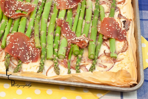 and parmesan recipe dishmaps asparagus tart with walnuts and parmesan ...