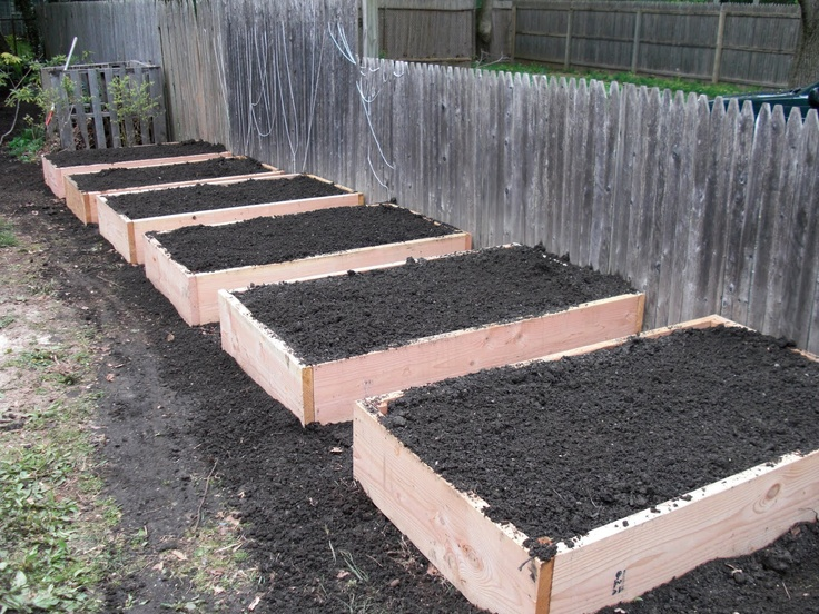 Raised flower beds garden ideas pinterest for Raised flower bed plans