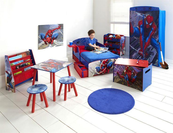 Spiderman room boys bedroom designs pinterest for Spiderman kids room