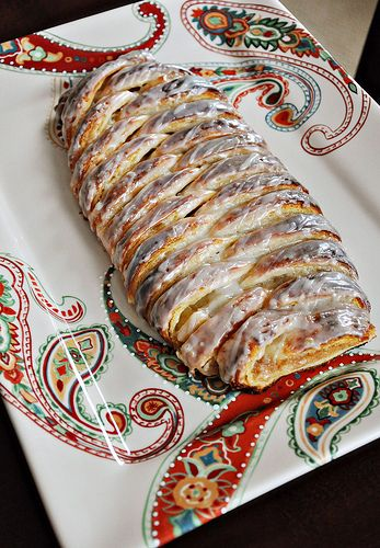 Danish Bread with Cream Cheese Filling | food | Pinterest