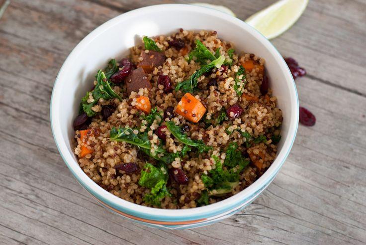 Quinoa Kale and Sweet Potato Salad   Salads   Pinterest