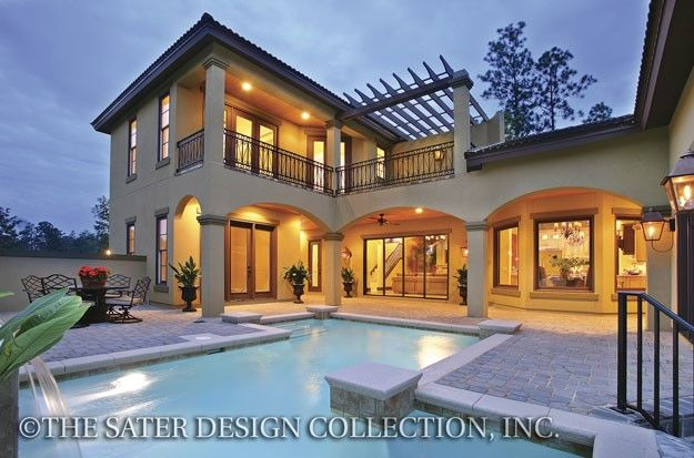 Pin by sater design collection on luxury house plans the for House design collection