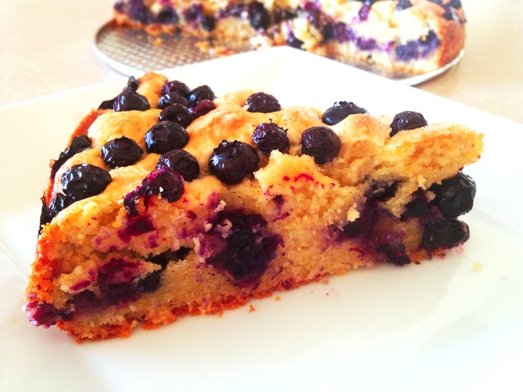 Blueberry Cornmeal Cake | Recipe