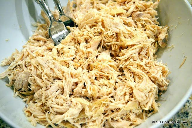 Easiest Crock Pot Shredded Chicken | Recipe