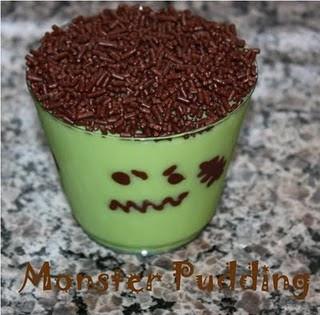 Frankenstein pudding