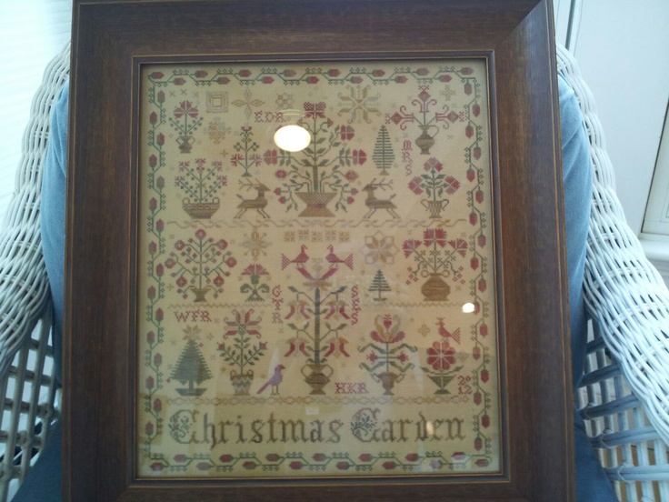Pin by holly rison on current completed cross stitch for Blackbird designs english garden