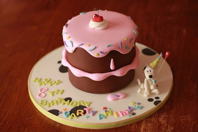 Cake Design Small : cute small b-day cake Cakes Pinterest