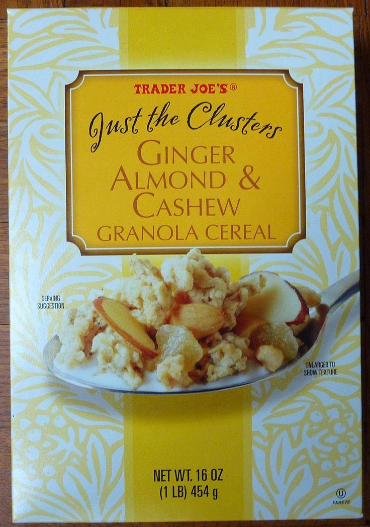 Cashew-Ginger Granola Recipe — Dishmaps