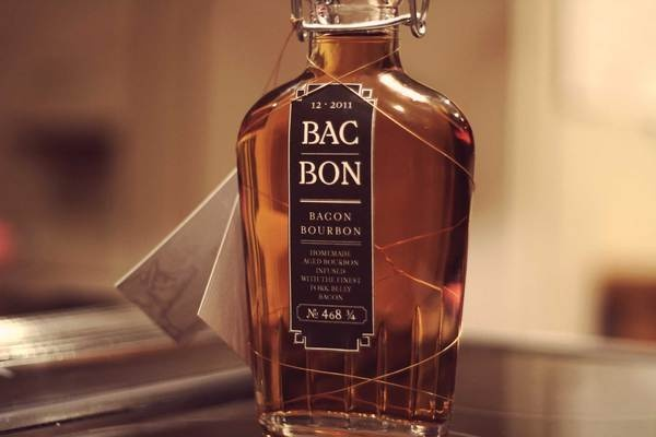 BAC|BON .:. bacon bourbon by Casey Bollinger, via Behance