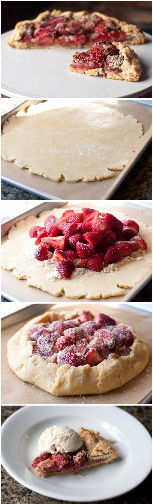 Strawberry Galette Recipe
