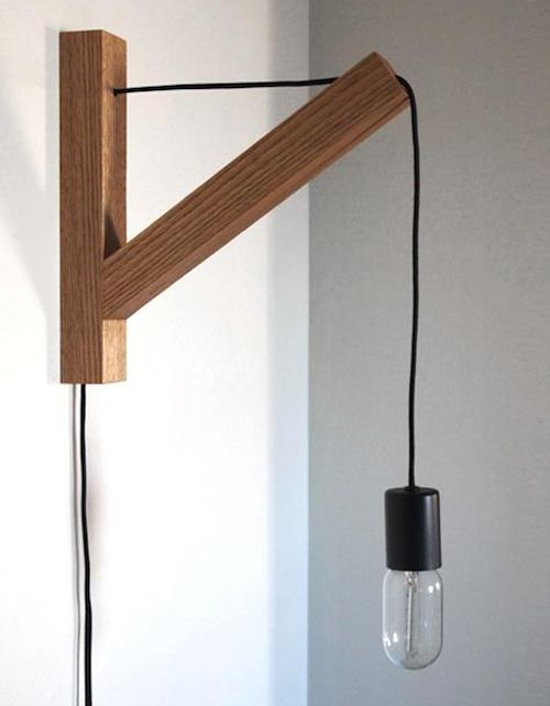bedside lamp idea lighting pinterest. Black Bedroom Furniture Sets. Home Design Ideas