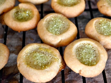 Key lime pie thumbprints!   Sweet Creations II   Pinterest