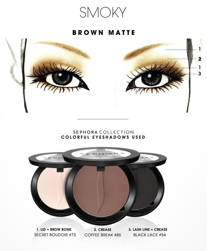 COLORFUL: Smoky Brown Matte HOW-TO #SephoraCollection #Sephora #Makeup
