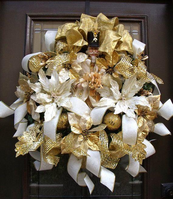 Wreath christmas wreaths designer door wreath elegant christmas
