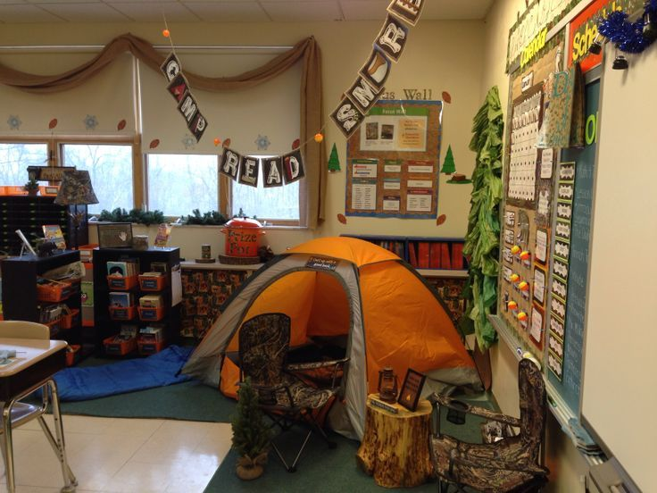 Classroom Decorating Ideas Camping Theme : Camping themed classroom pinterest